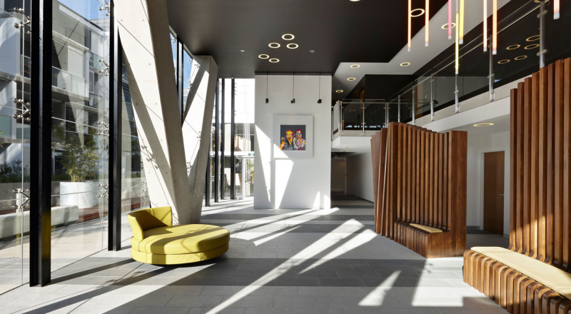 50 Claremont by Michael L Yates has retained National FM as the facilities management company.