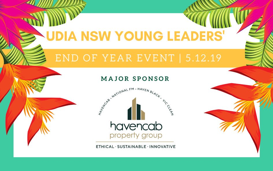 Havencab Property Group - sponsors of UDIA NSW Young Leaders' Award for Excellence