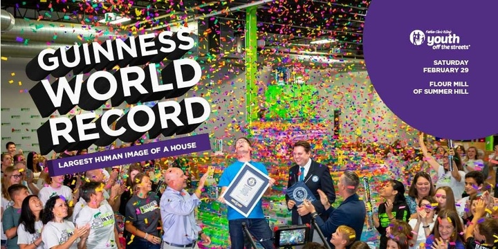 Youth off the Streets Guinness World Record
