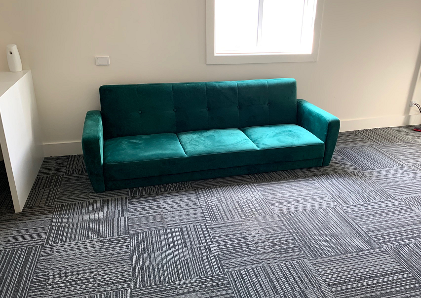 Recycled lounge gifted by National FM